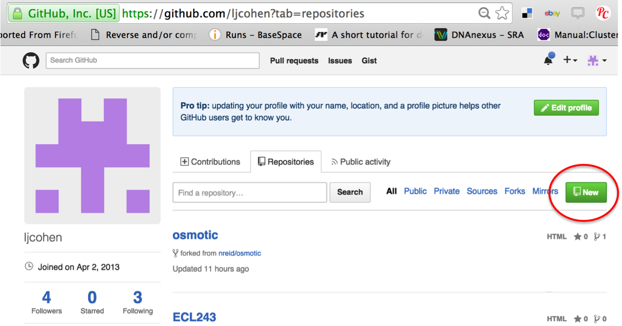 Using GitHub repositories to store your scripts — angus 5 0